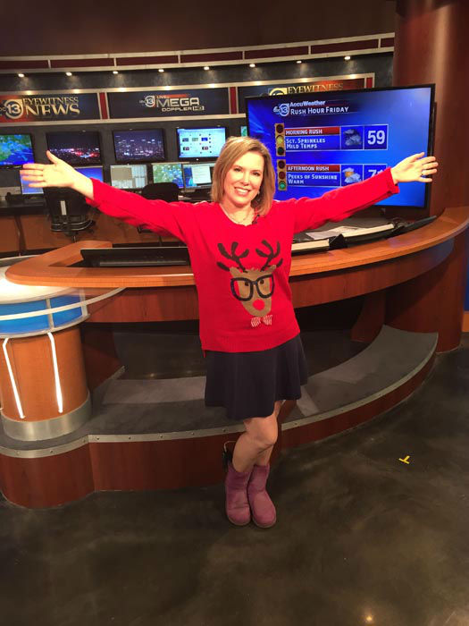 <div class='meta'><div class='origin-logo' data-origin='none'></div><span class='caption-text' data-credit='KTRK Photo'>We're celebrating National Ugly Christmas Sweater Day today at ABC-13</span></div>