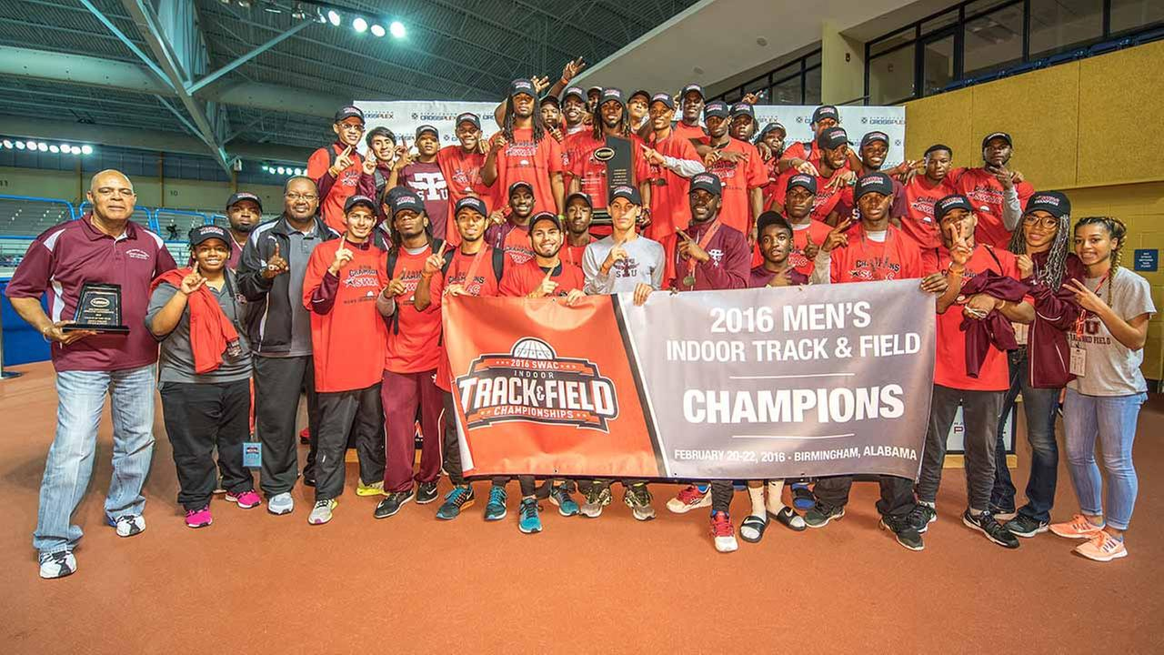 2016 SWAC Mens Indoor Track and Field Champions