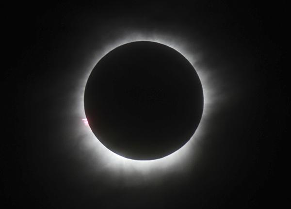 <div class='meta'><div class='origin-logo' data-origin='AP'></div><span class='caption-text' data-credit='AP'>A total solar eclipse is seen in Belitung, Indonesia, Wednesday, March 9, 2016.</span></div>