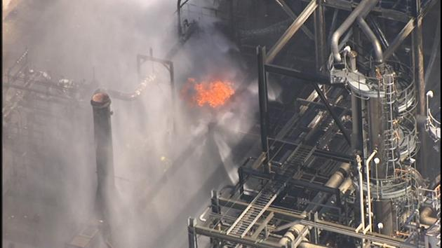 One injured in Pasadena plant blast