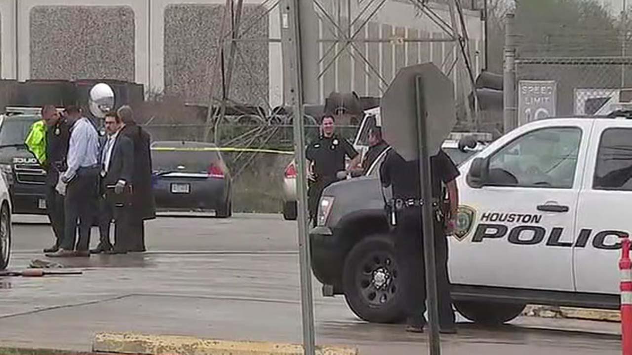 Shots fired at UPS