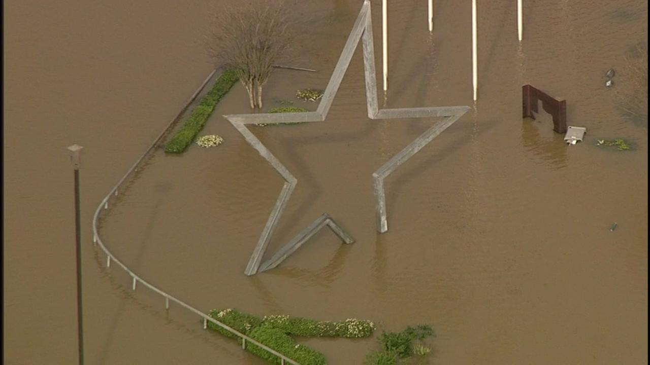Photos of historic flooding in East Texas