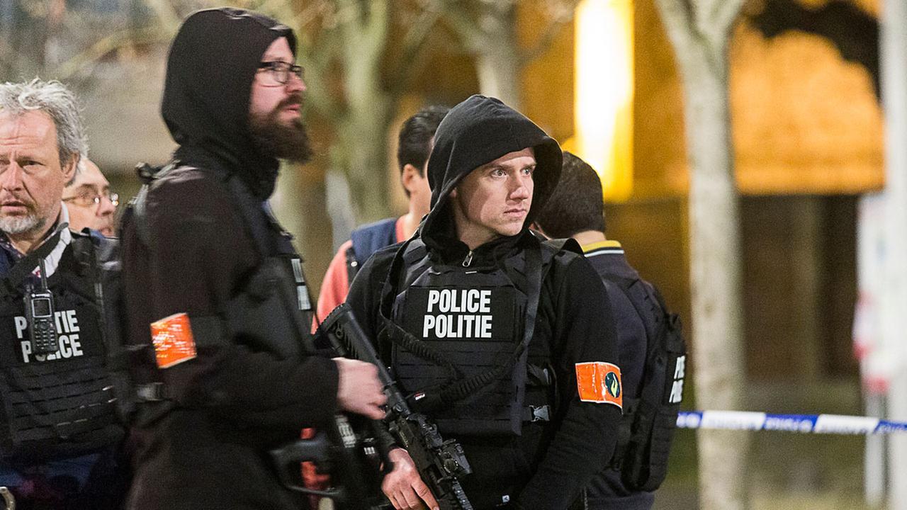Belgium raid