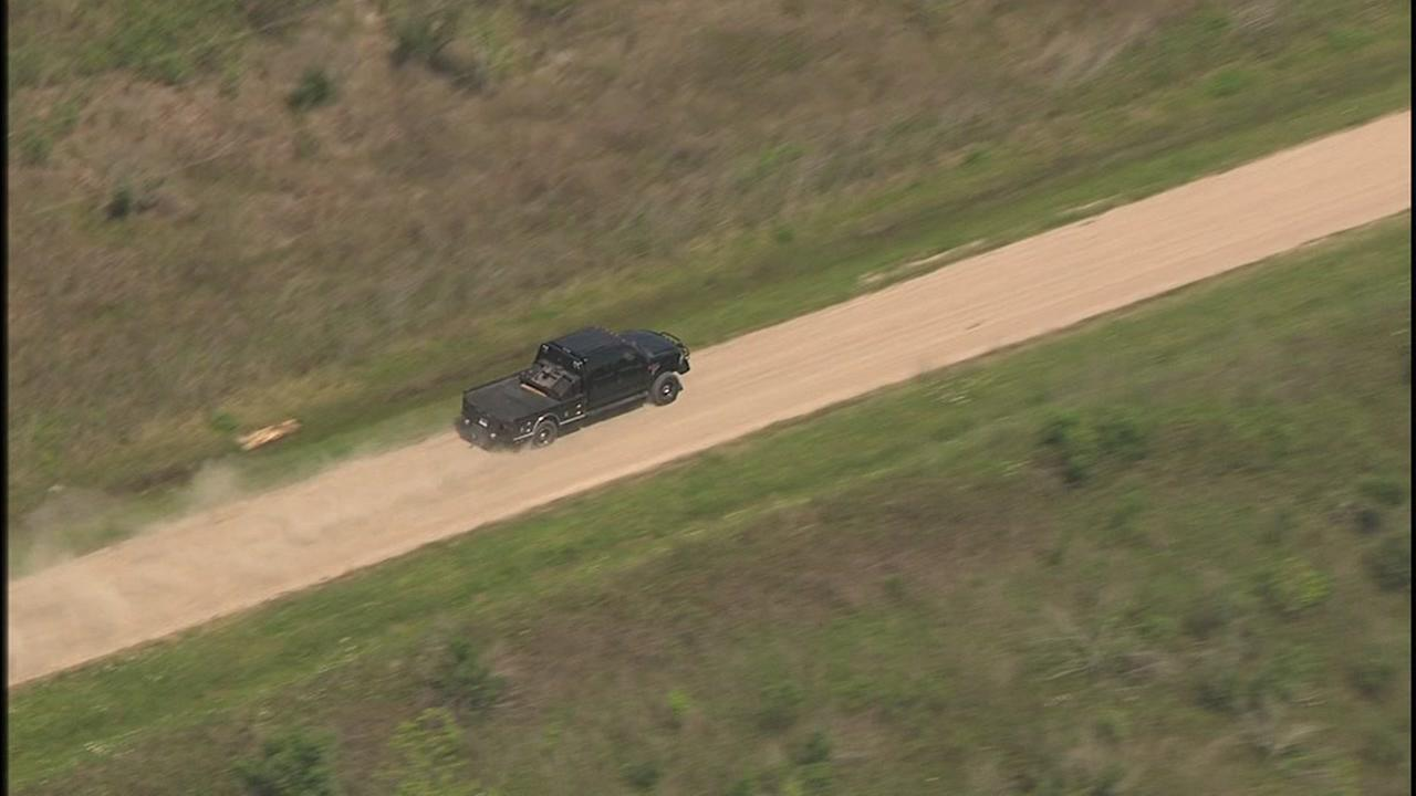 Sky Eye HD images from pursuit in Brazoria County