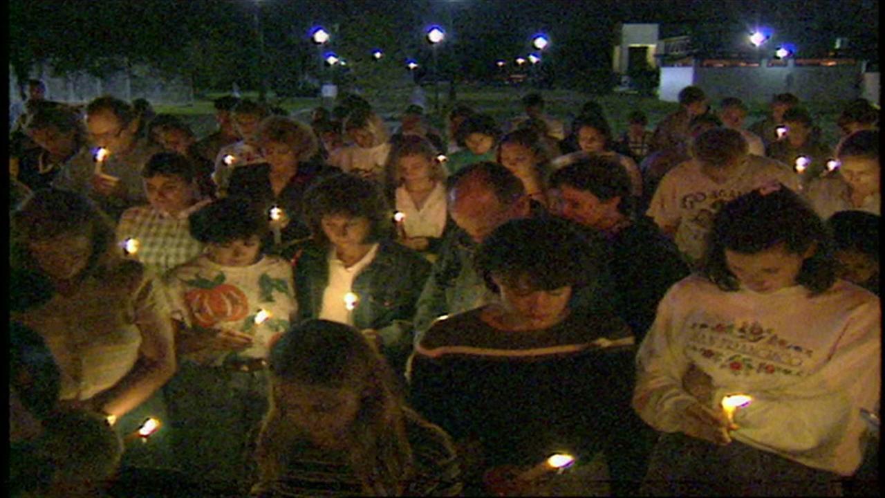 Prayer vigil for Laura Smither