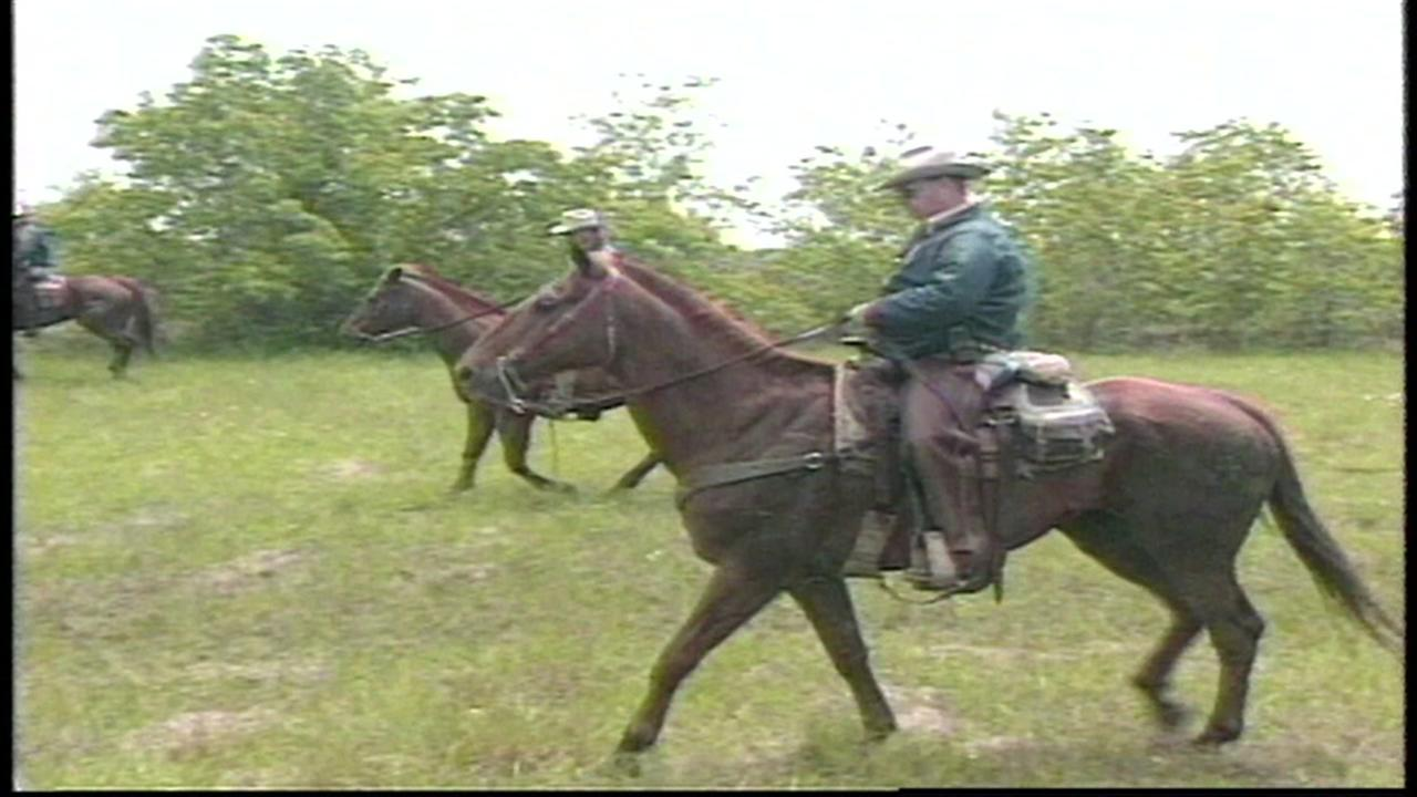 Searchers take to horseback to find Laura Smither