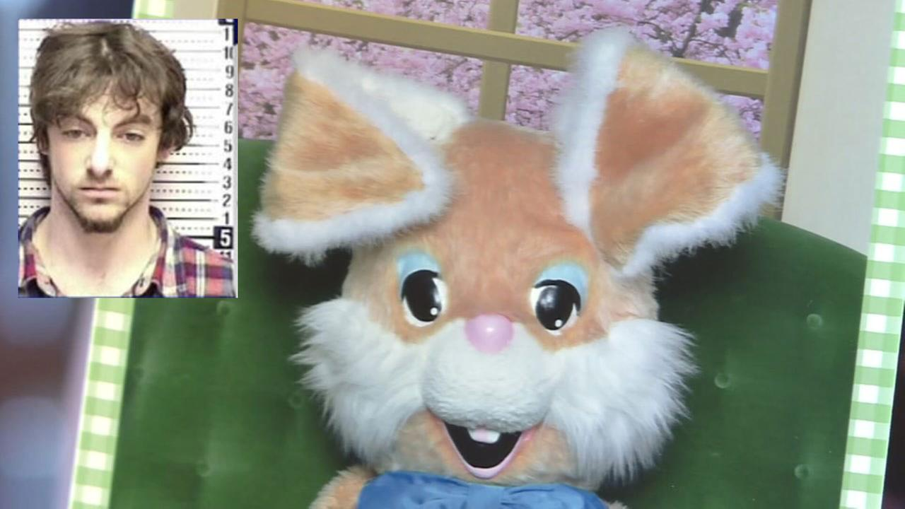 Sex offender accused - easter bunny