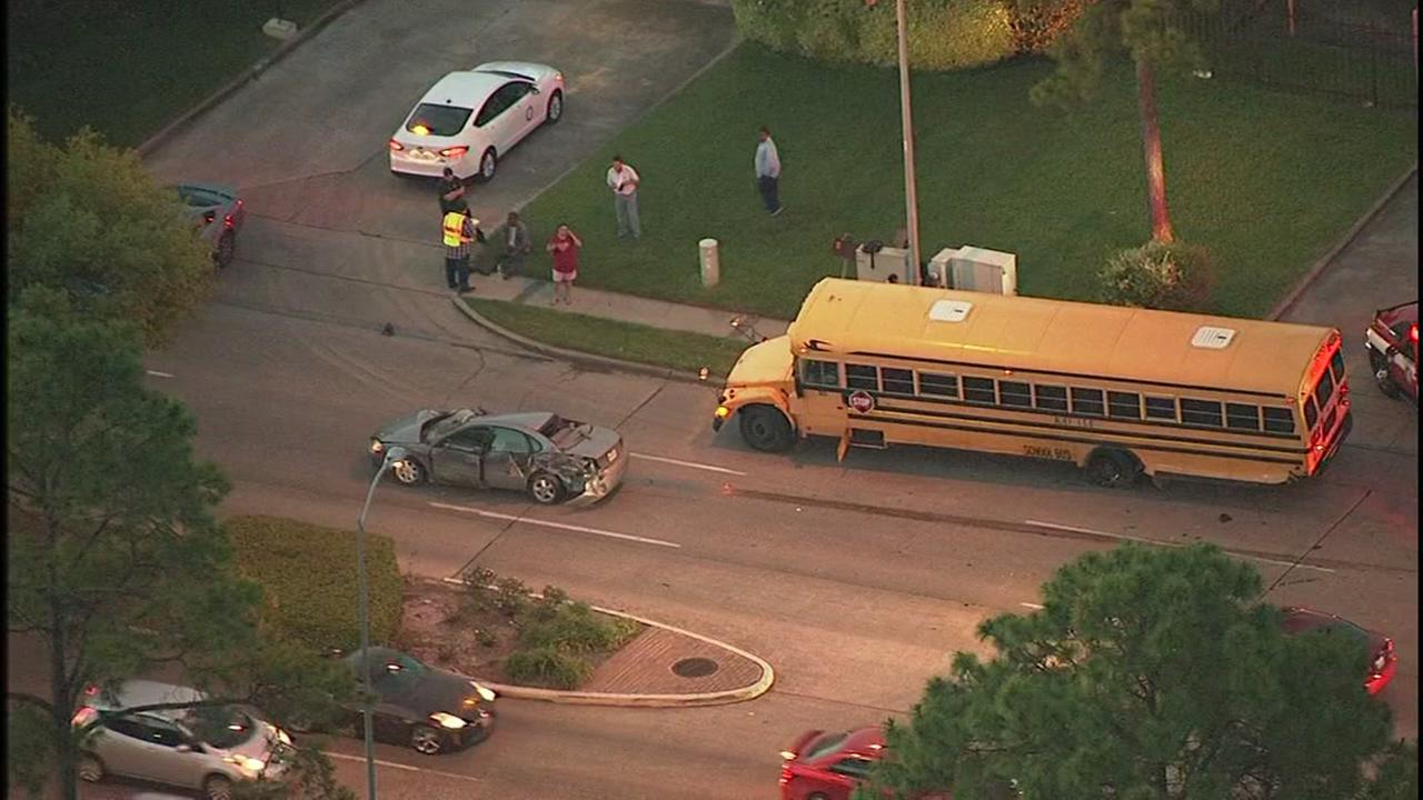 Alief bus accident