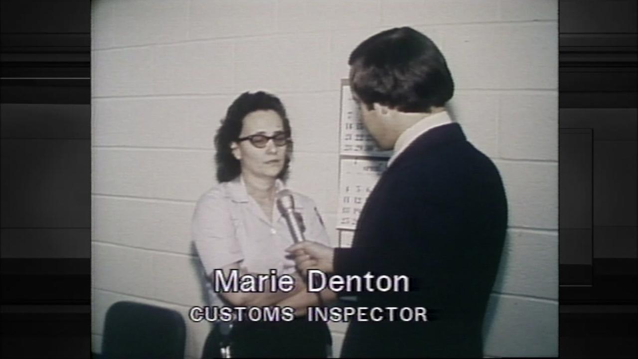 Customs inspector who saw body of Howard Hughes is interviewed by former KTRK reporter, David Glodt