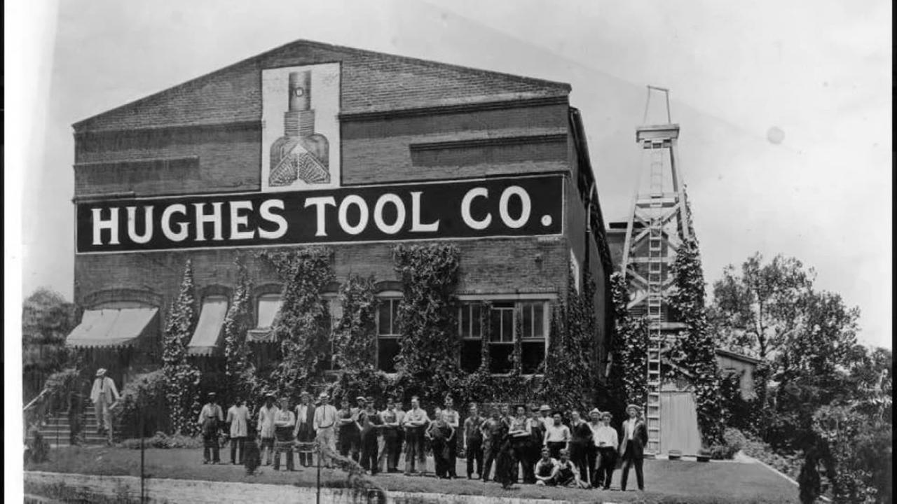 Old Hughes Tool building. Houston. Photo: Houston Public Library-HMRC