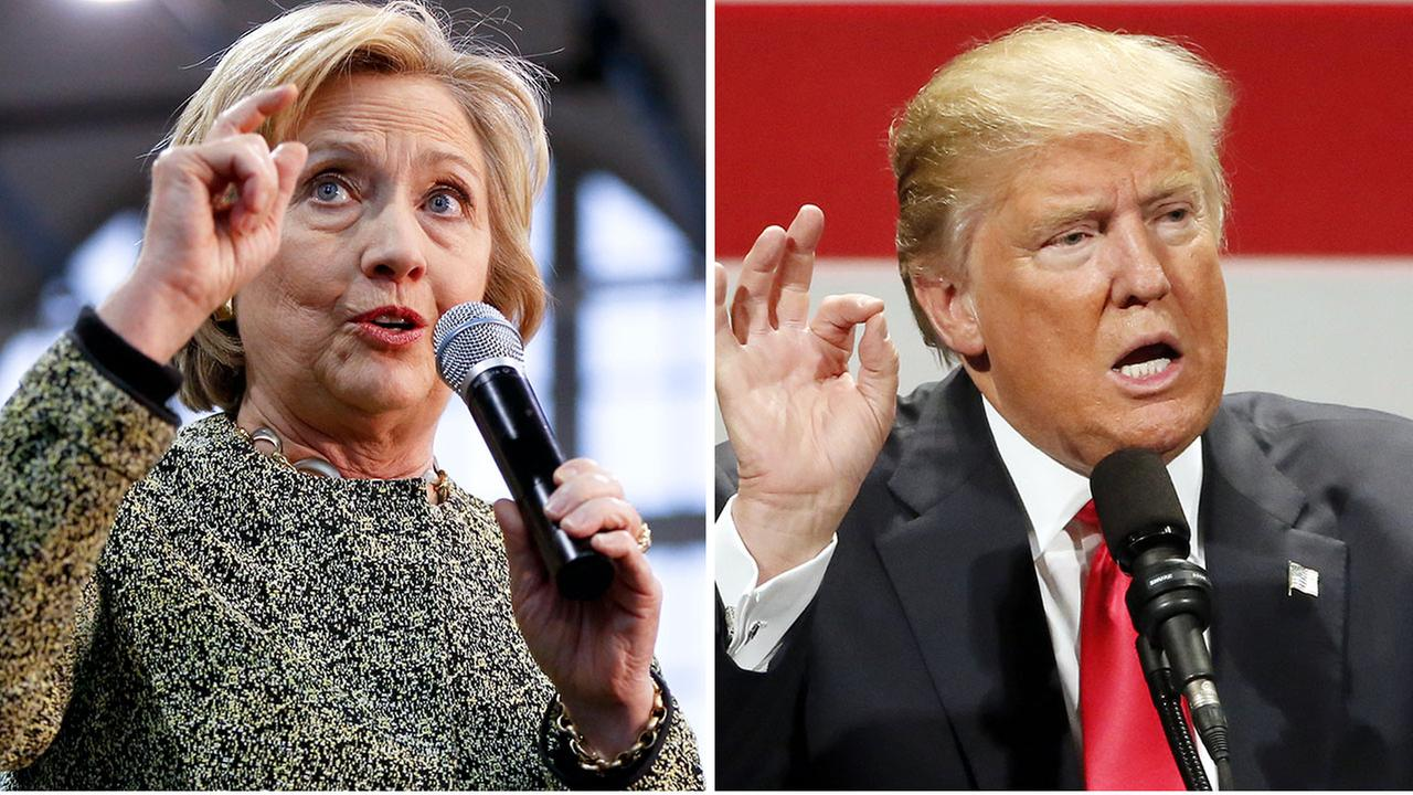 Poll: Clinton has edge over Trump on range of issues