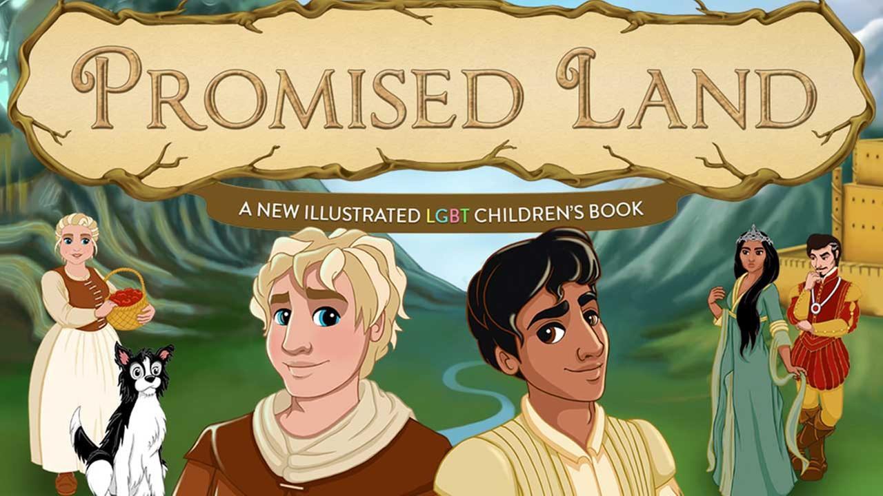Authors use crowdfunding for LGBT childrens book, Promised Land