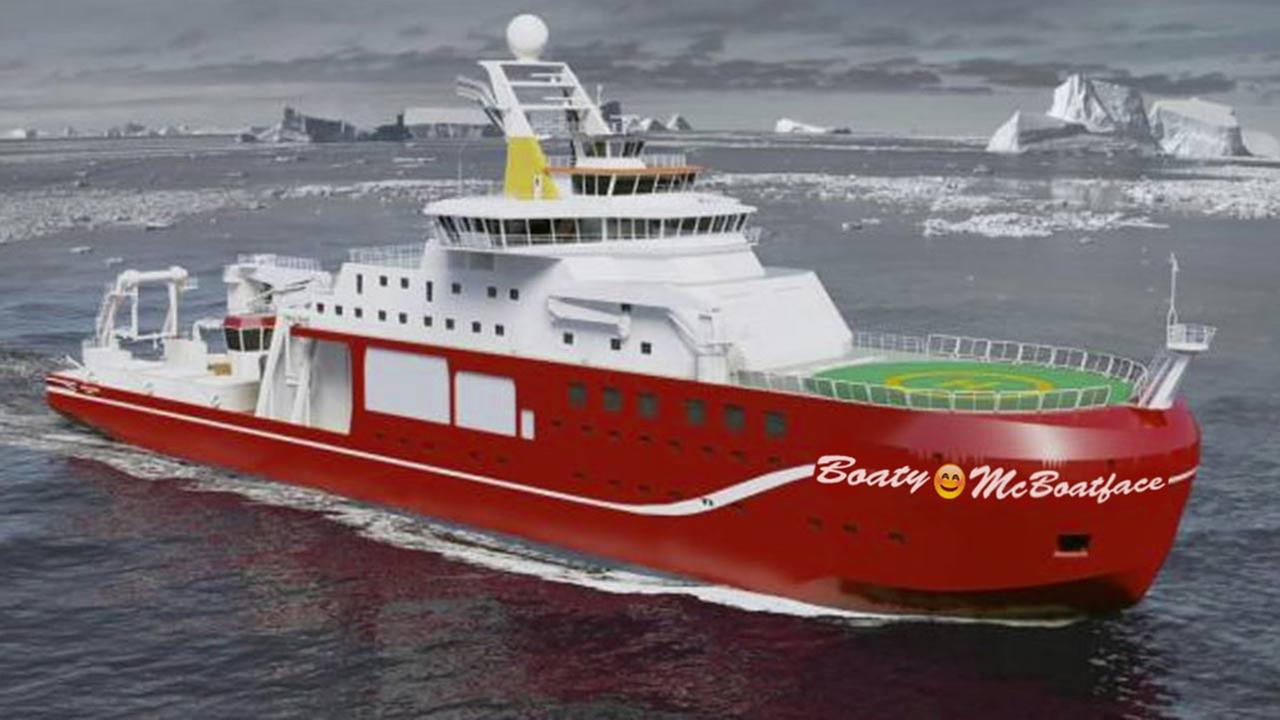 UK official: Polar research vessel unlikely to be named Boaty McBoatface