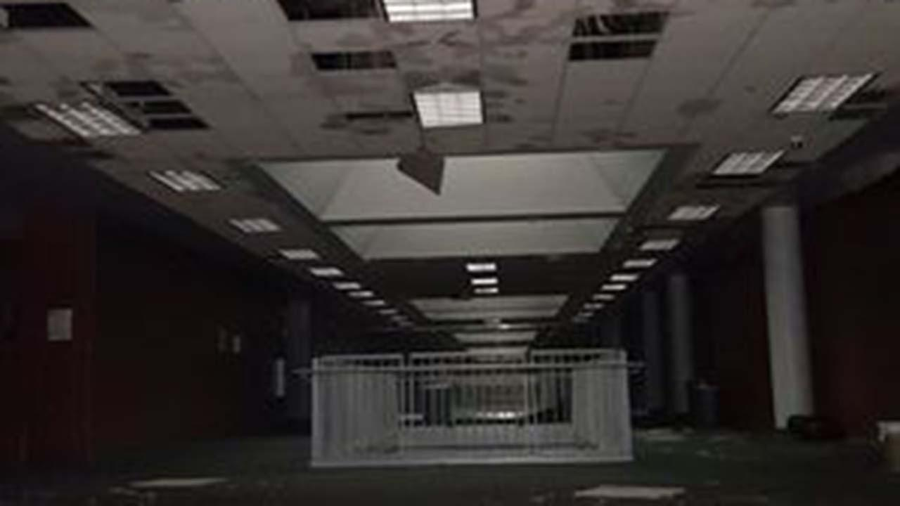 The south end of Klein Collins High School was hit worst by the storm