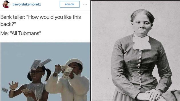 1301393_630x354 harriet tubman on the $20 dollar bill the best memes you need to