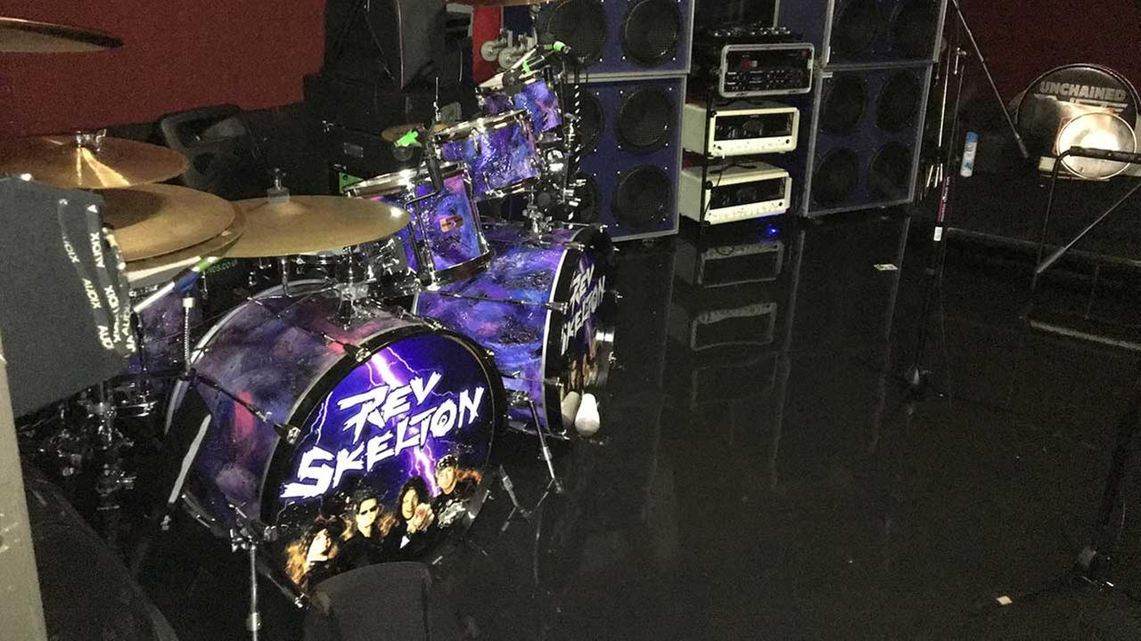 Photos of Rev Skeltons damaged equipment