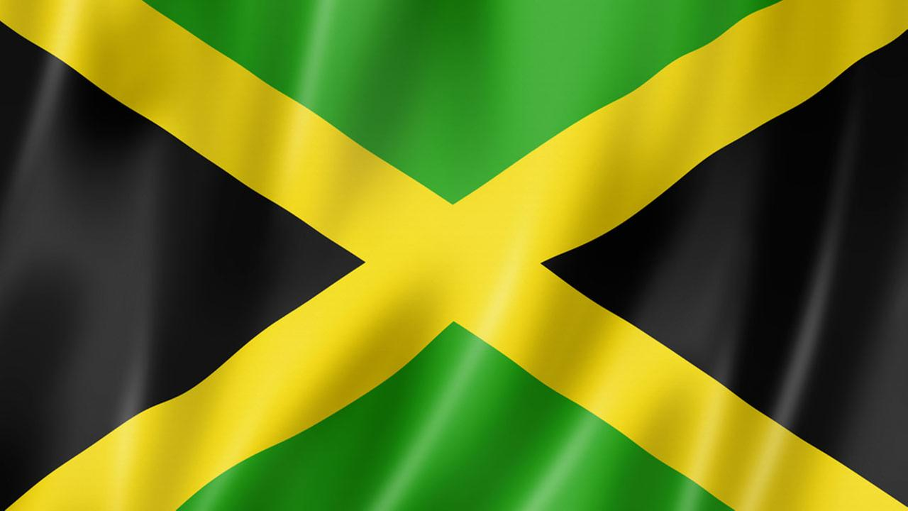 A photo of the Jamaican flag