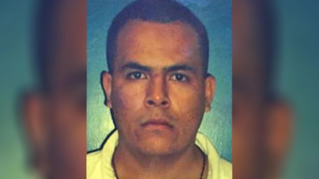 Jose Fernando Bustos-Diaz, 27, is believed to have fled to Mexico after escaping from a state prison in 2010.