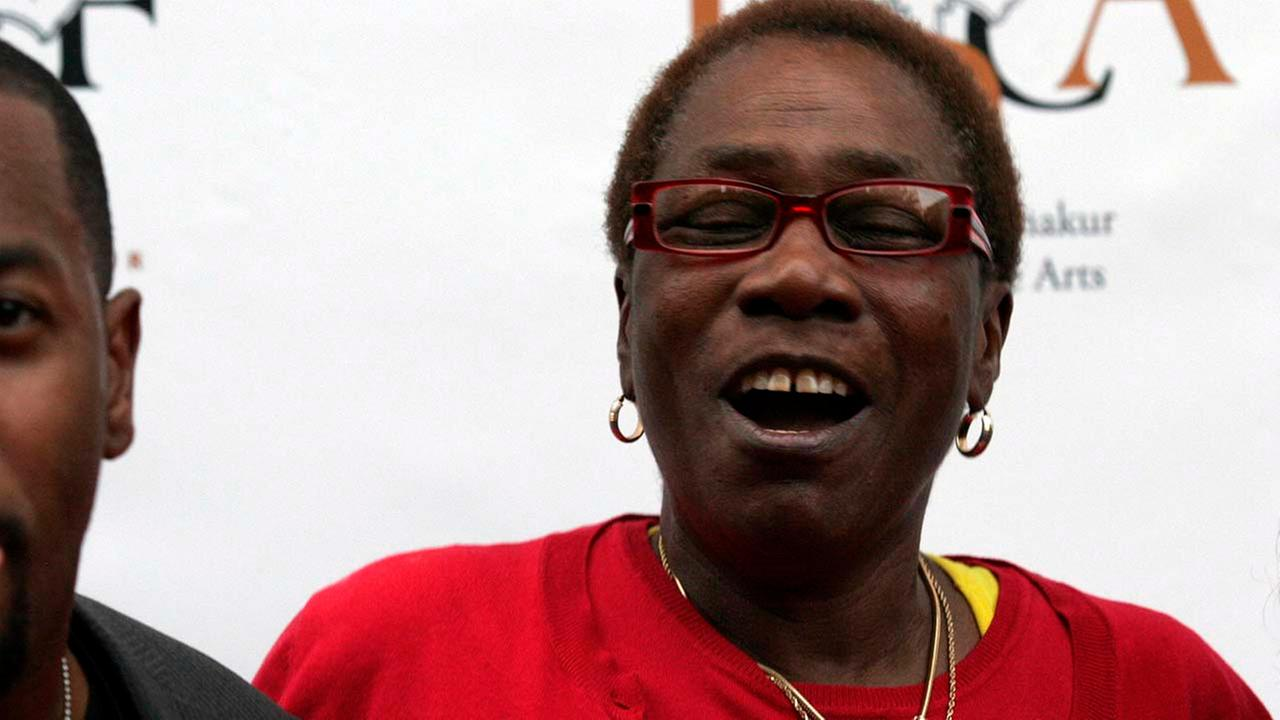 Afeni Shakur, mother of the late Tupac Shakur