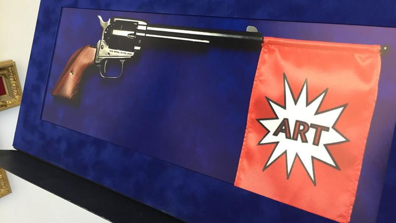 Gun labeled as art pulled from display at UH