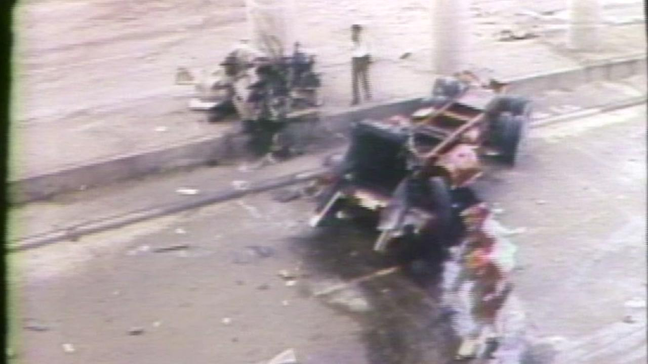 Houston emergency crews and citizens respond to the ammonia truck disaster of 1976