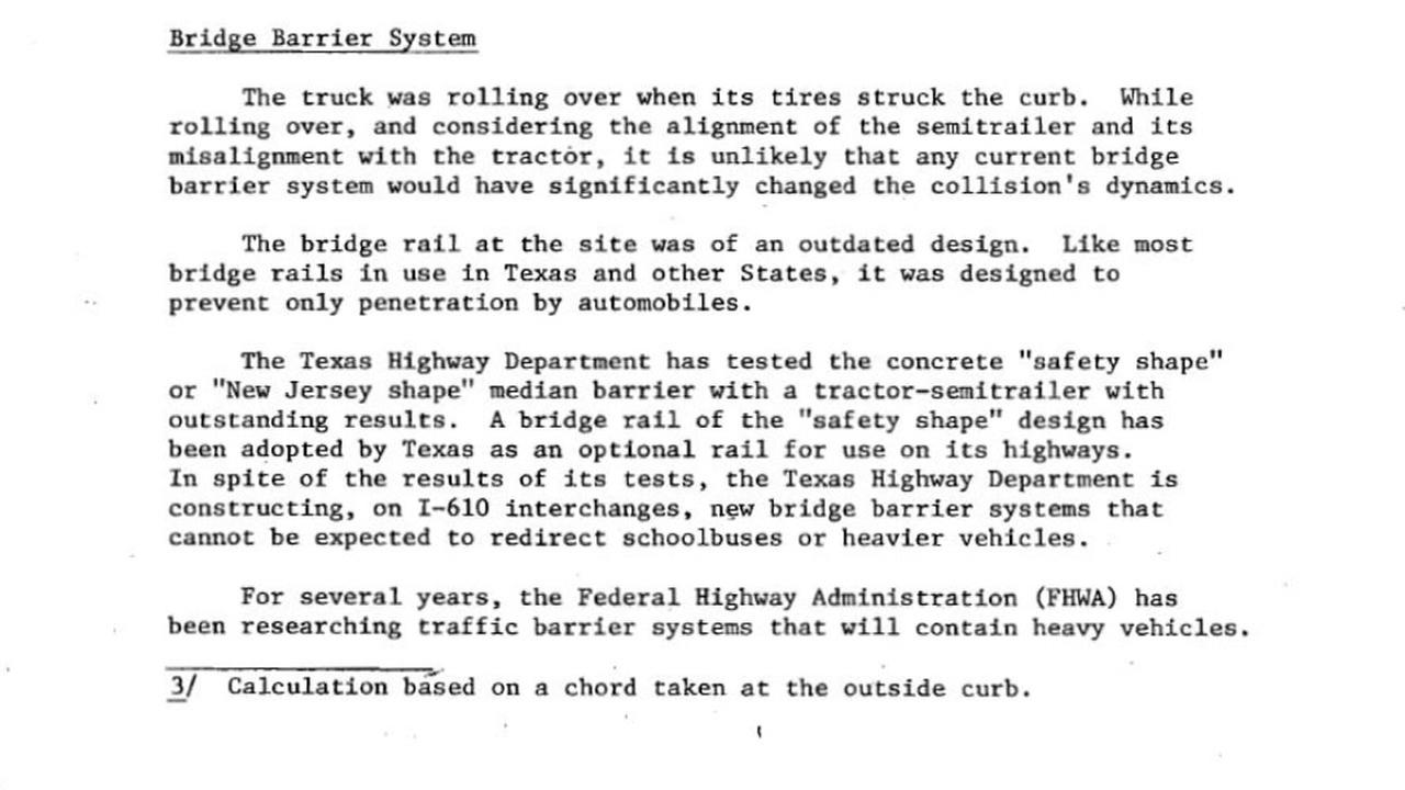NTSB report on accident