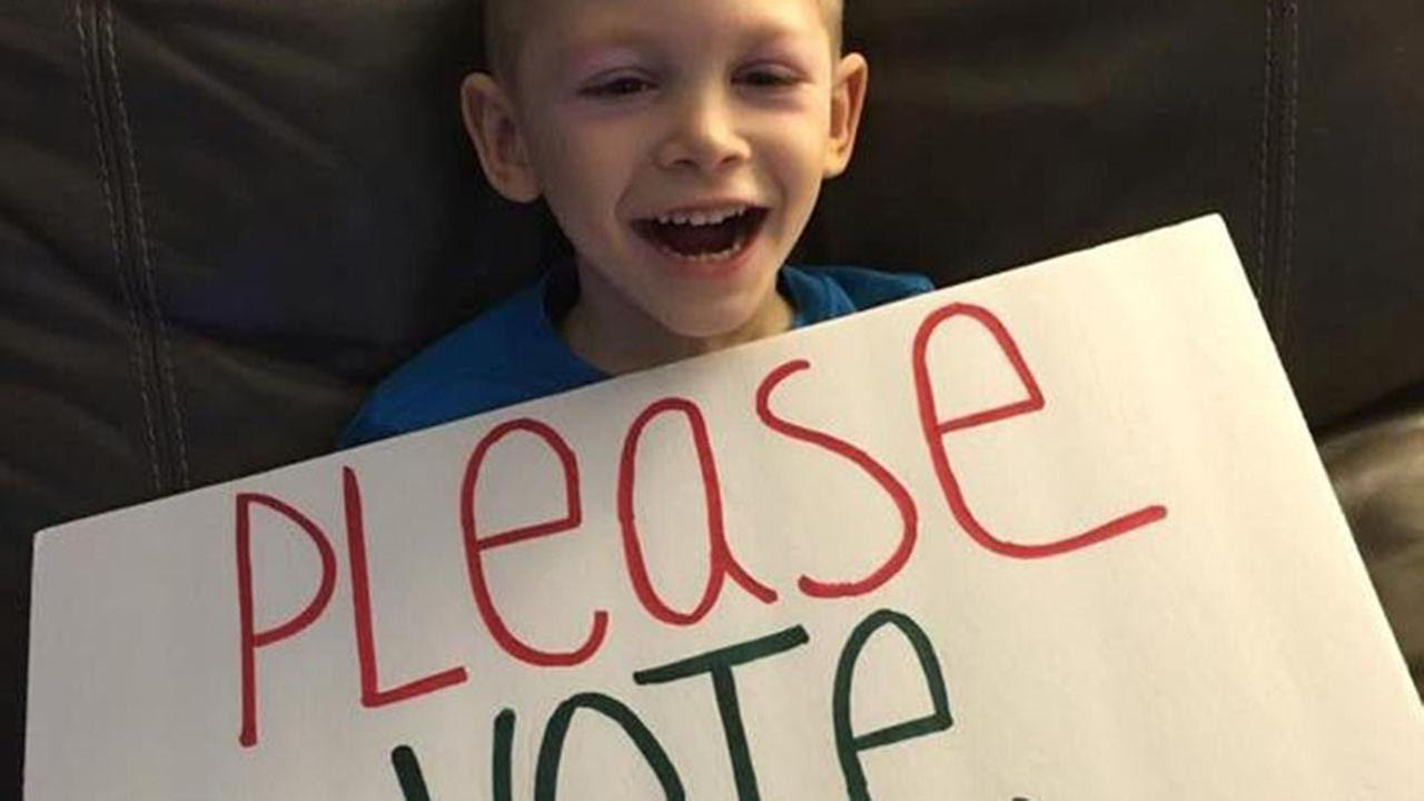 Family seeks community votes to win wheelchair accessible van