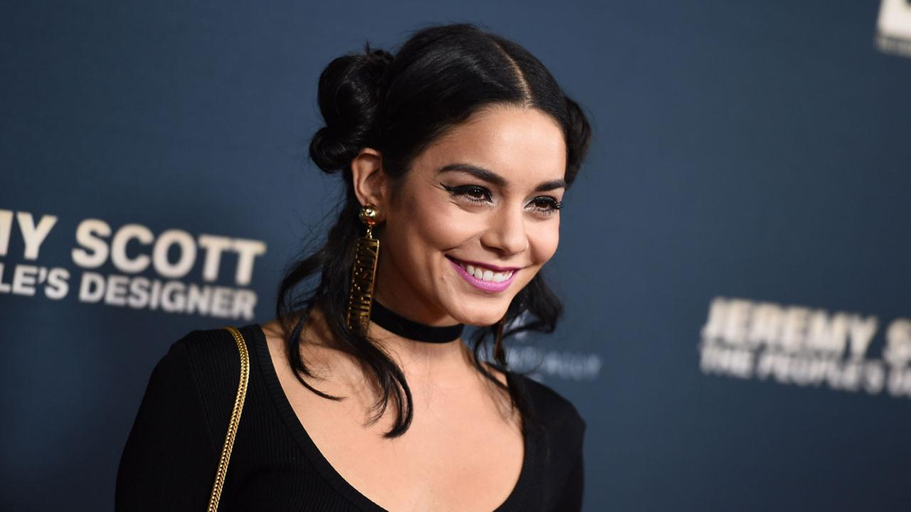 Vanessa Hudgens attends the premiere of Jeremy Scott: The Peoples Designer at the TCL Chinese Theatre on Tuesday, Sept. 8, 2015, in Hollywood, Calif.