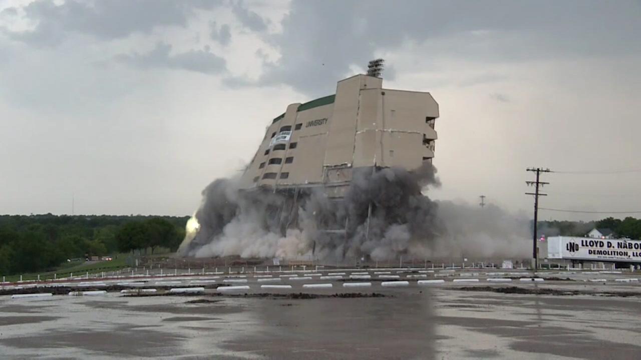 Stadium implosion