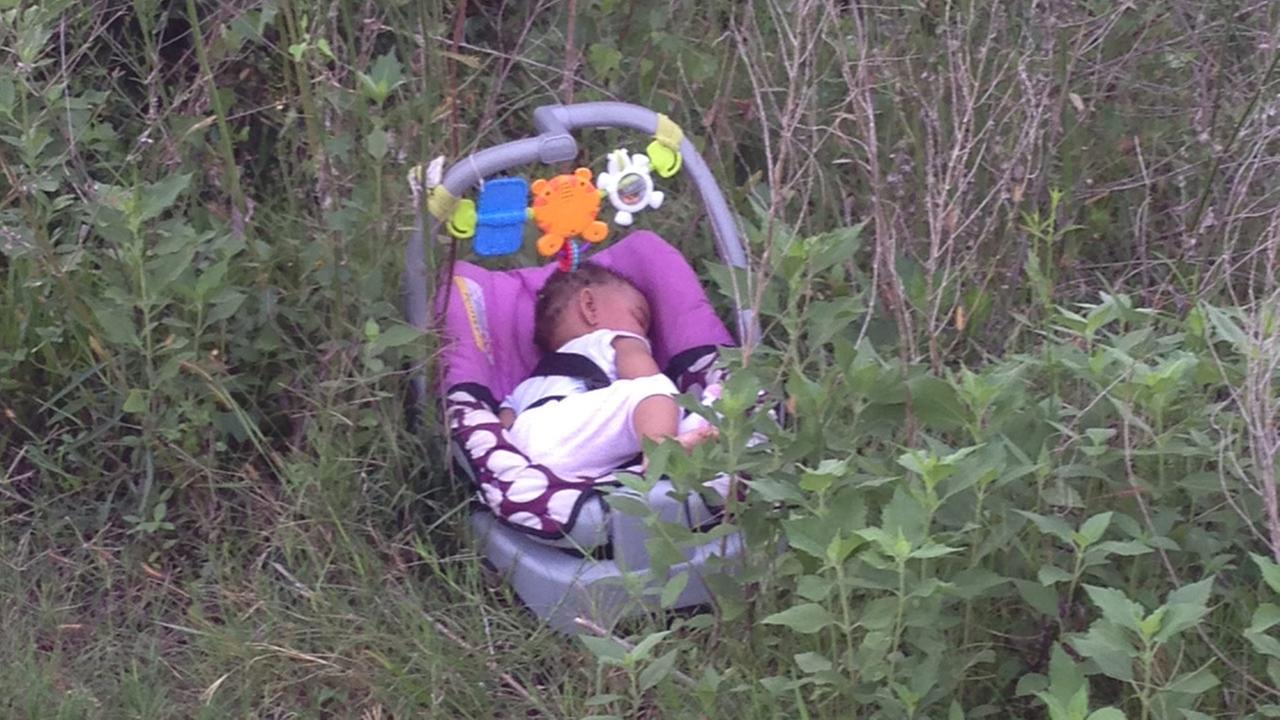 baby found in field