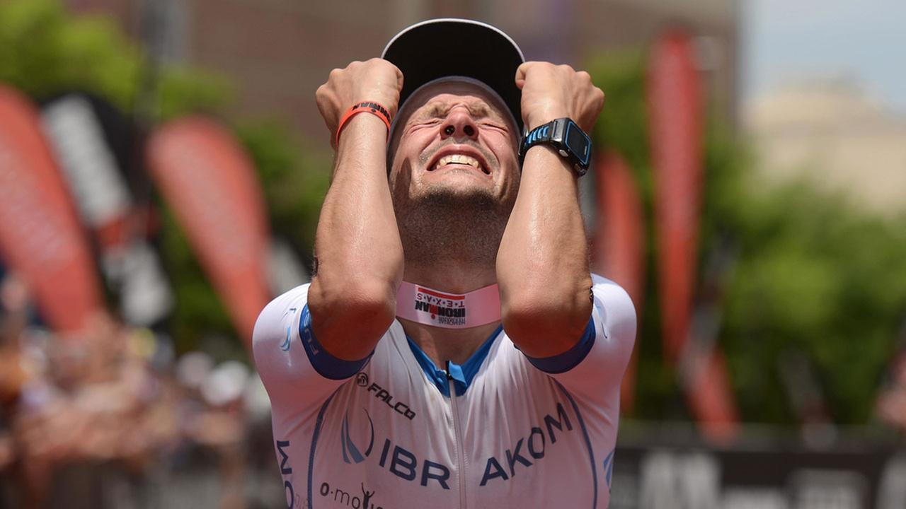 German Patrick Lange grabbed gold during his first Ironman attempt.