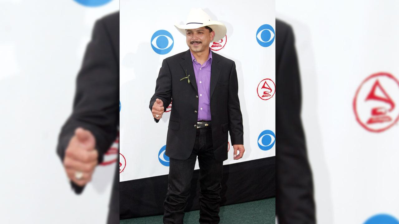 Emilio Navaira arrives at the Latin Grammy Awards in Miami, Wednesday, Sept. 3, 2003.