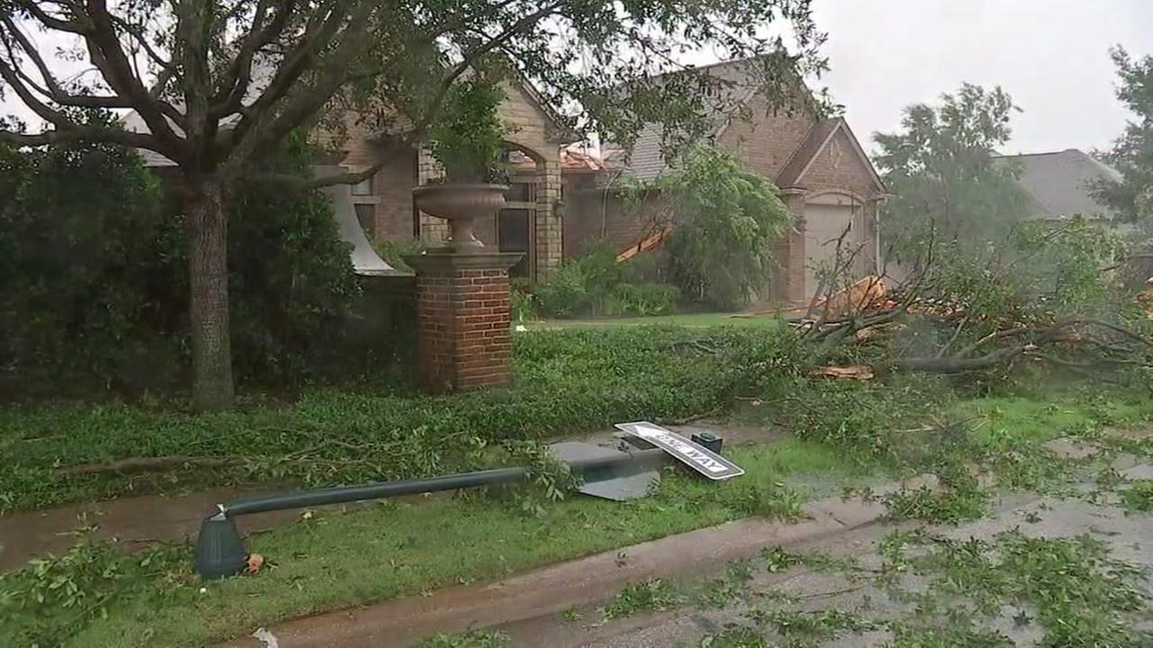 Photos from damage and flooding around the Bryan-College Station area. May 26, 2016