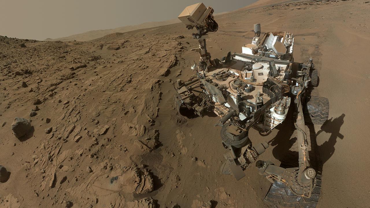 NASAs Curiosity Mars rover