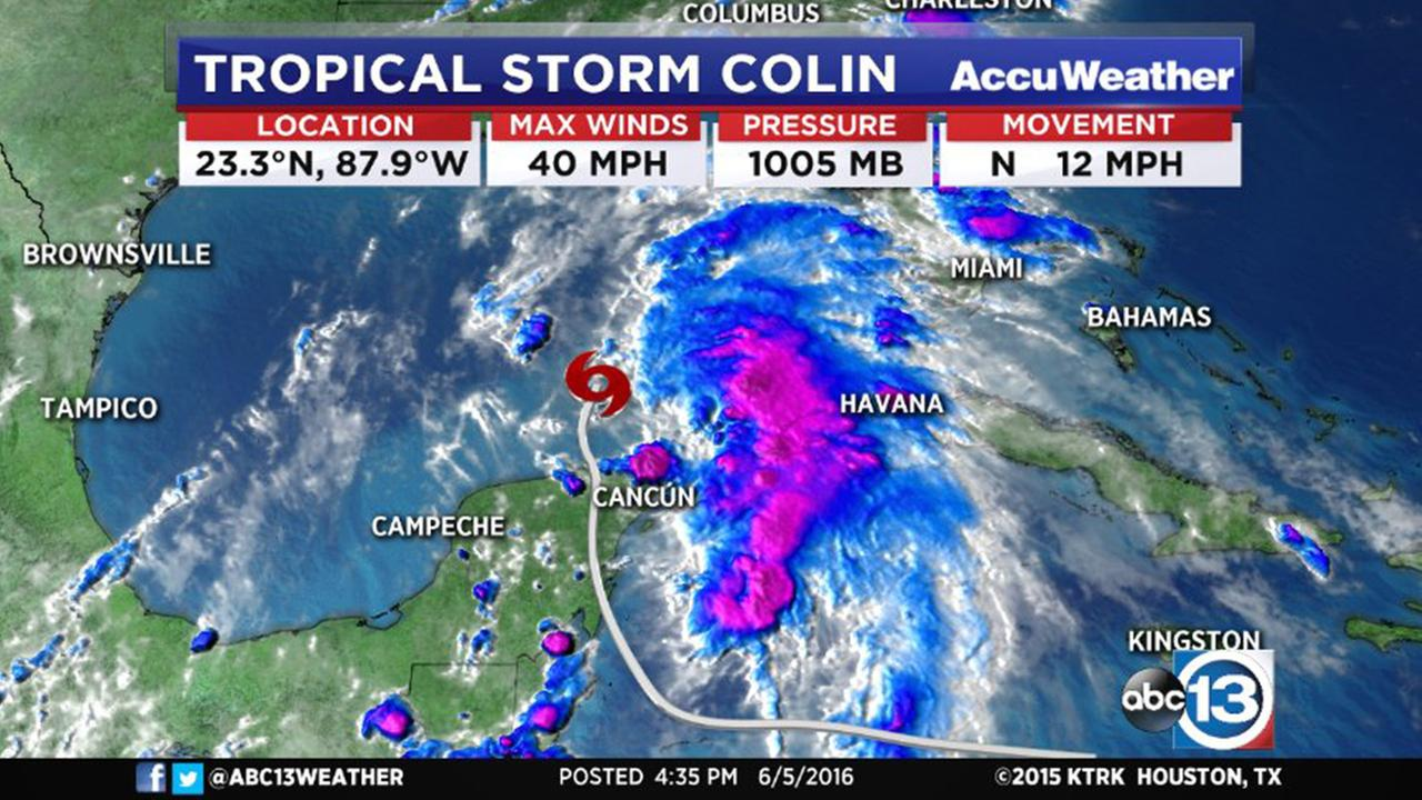 <b>Tropical</b> Depression #3 upgraded to <b>Tropical</b> <b>Storm</b> <b>Colin</b>, still headed ...