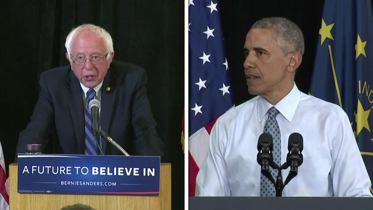 Sanders Obama