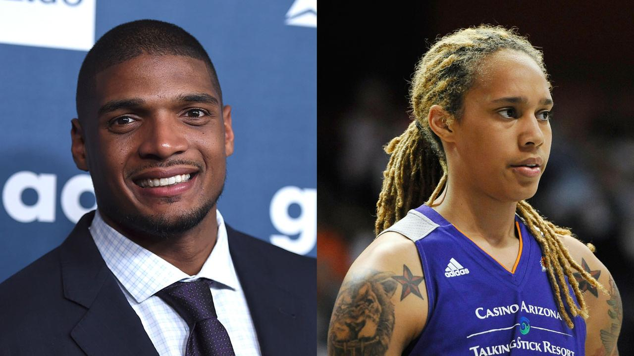 Michael Sam, Brittney Griner and others took to social media Sunday to express their condolences.