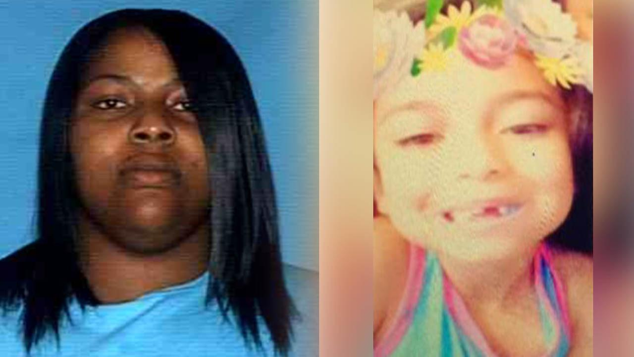 Amber Alert for abducted child, 6-year-old Aaleea Parr-Colunga, Yoakum, TX