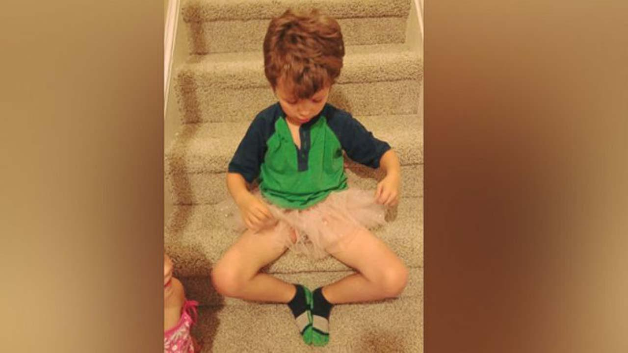 Mom defends son who wears tutus and nail polish: 'Show Him Acceptance'