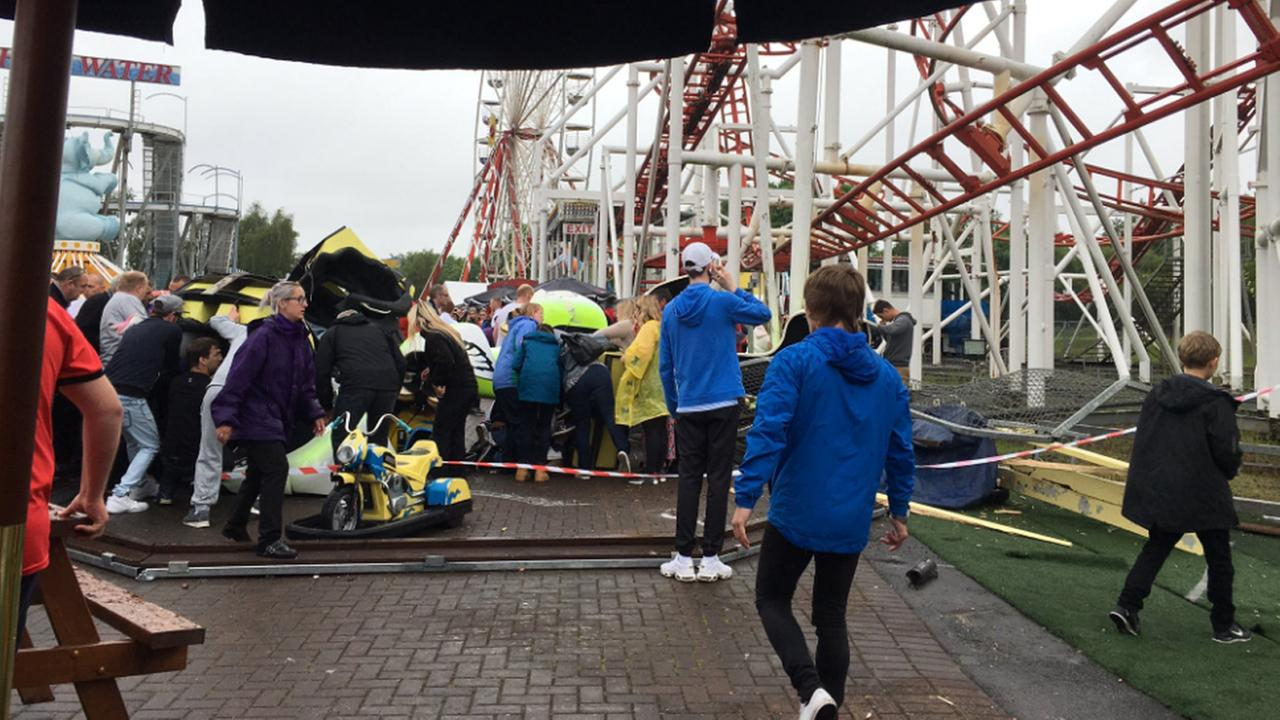 Roller Coaster accident in Scotland