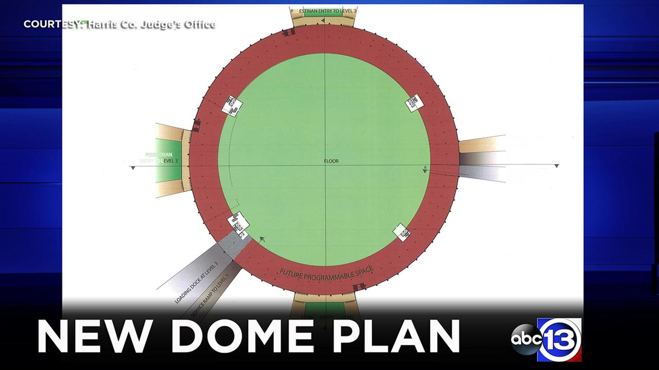 County officials give abc13 a sneak peek into the latest idea to re-purpose the Houston Astrodome.