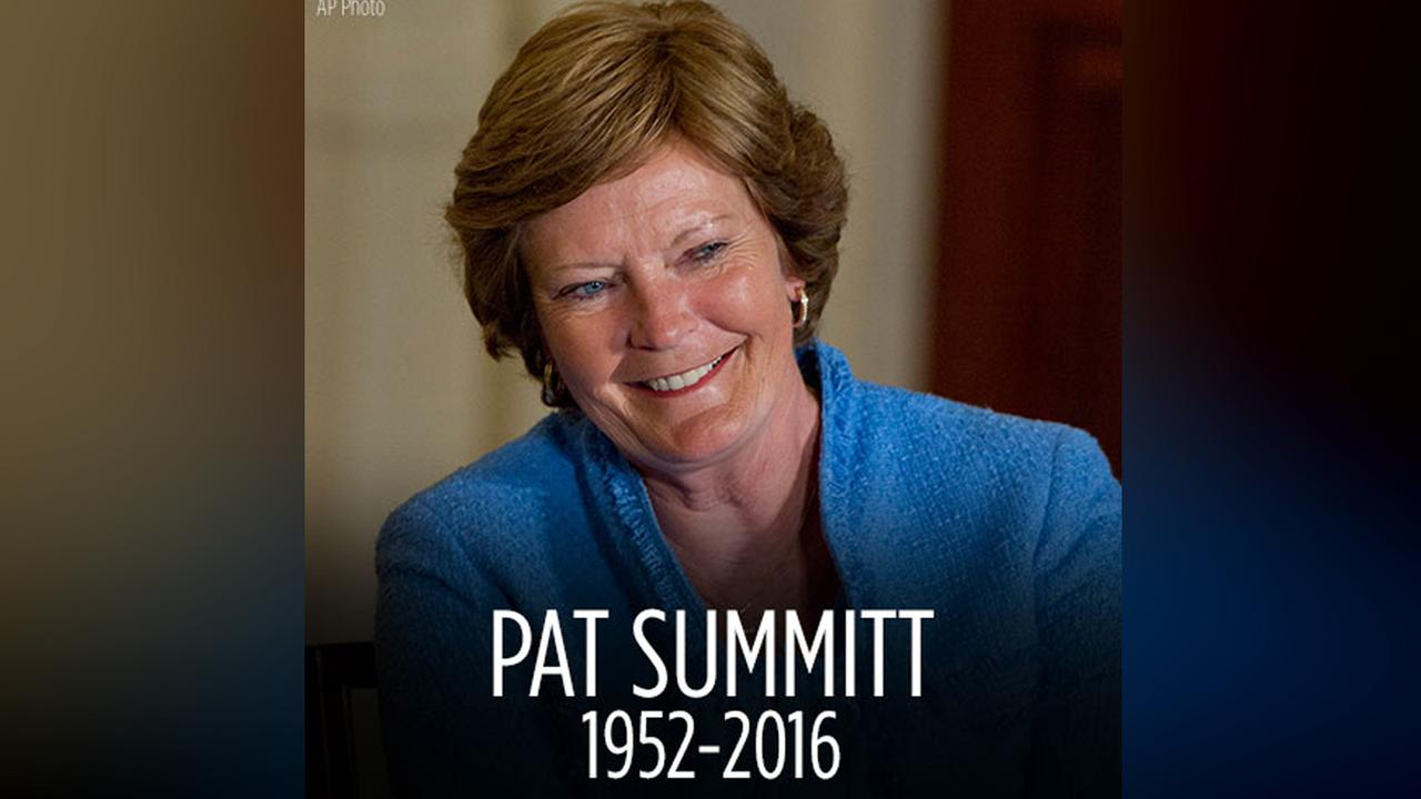 Pat Summit, winningest coach in Division 1 history dies at 64