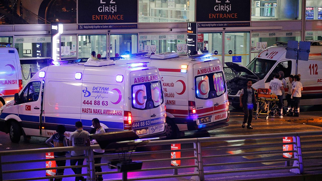 Istanbul governor: Death toll in attack at city's Ataturk airport now at 41.
