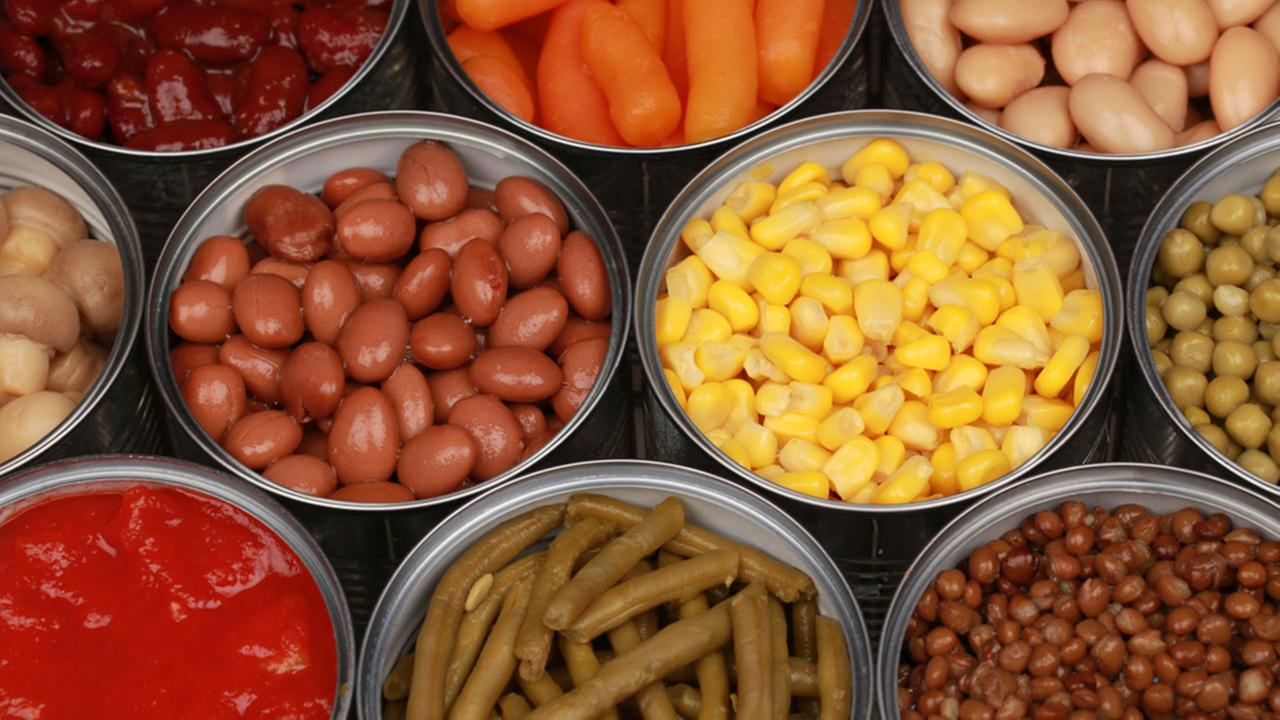 Canned foods linked to BPA risk in new study | abc13.com