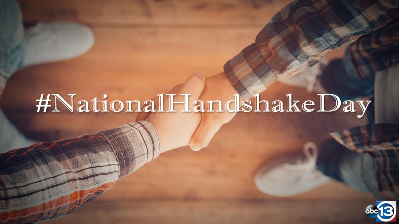 #NationalHandshakeDay