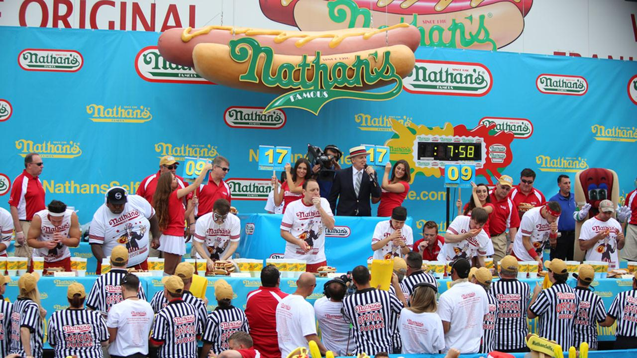 Behind famed hot dog contest, a whopper of a legend