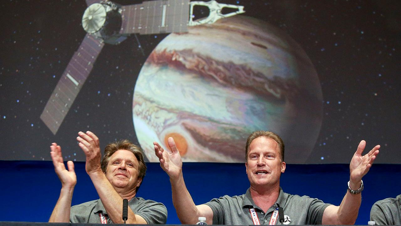 Jupiter has new visitor - a solar-powered spacecraft ...