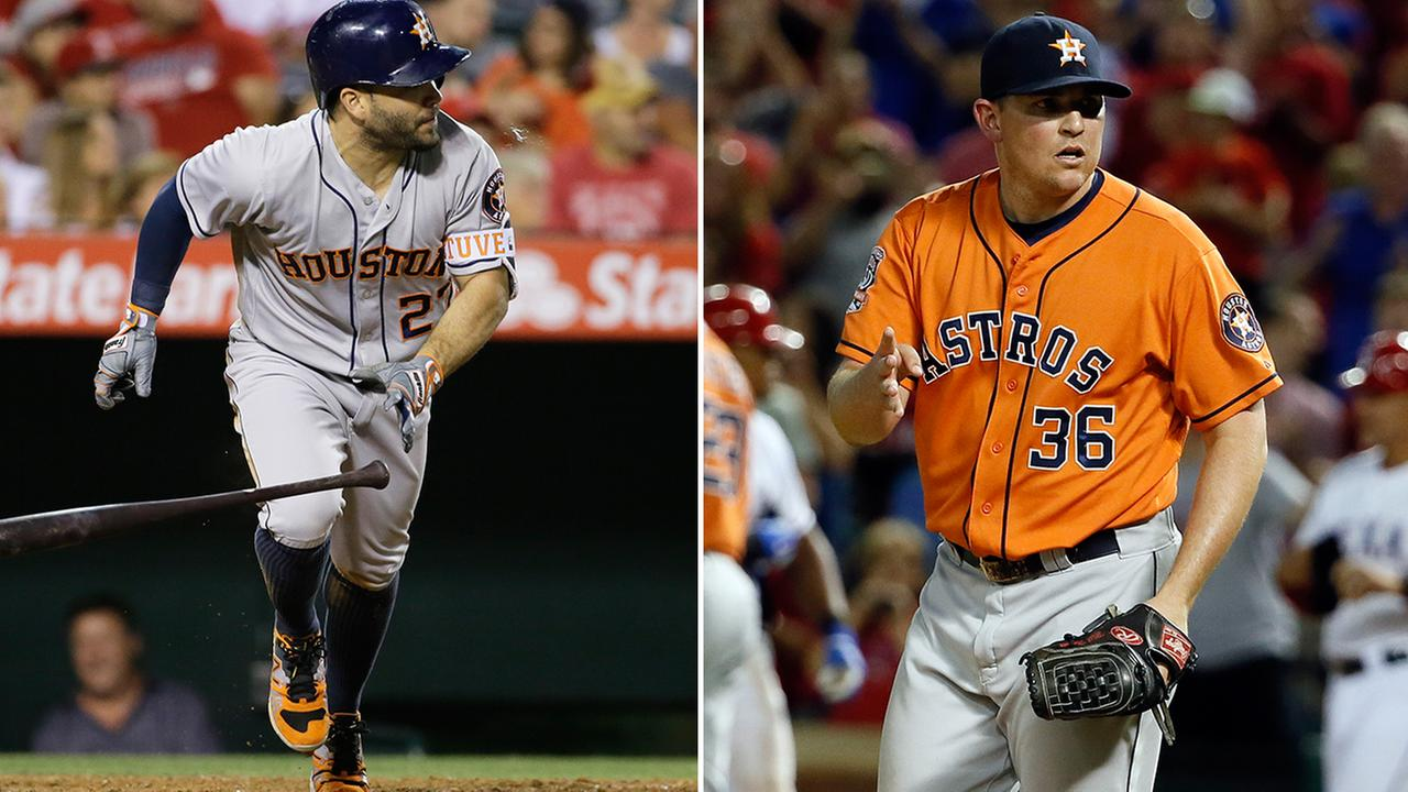 Jose Altuve and Will Harris will represent the Houston Astros in this years All-Star game.