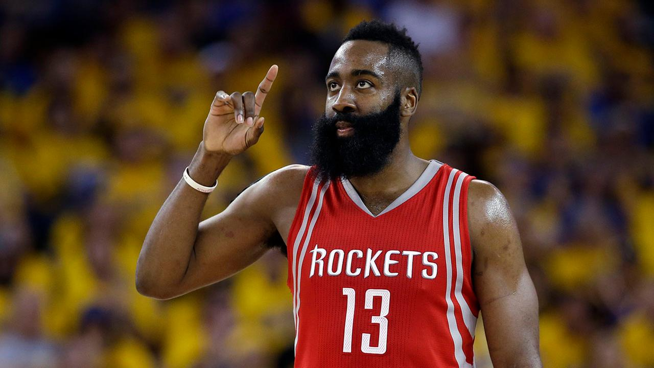 Harden signs 4-year, $118 million extension with Rockets