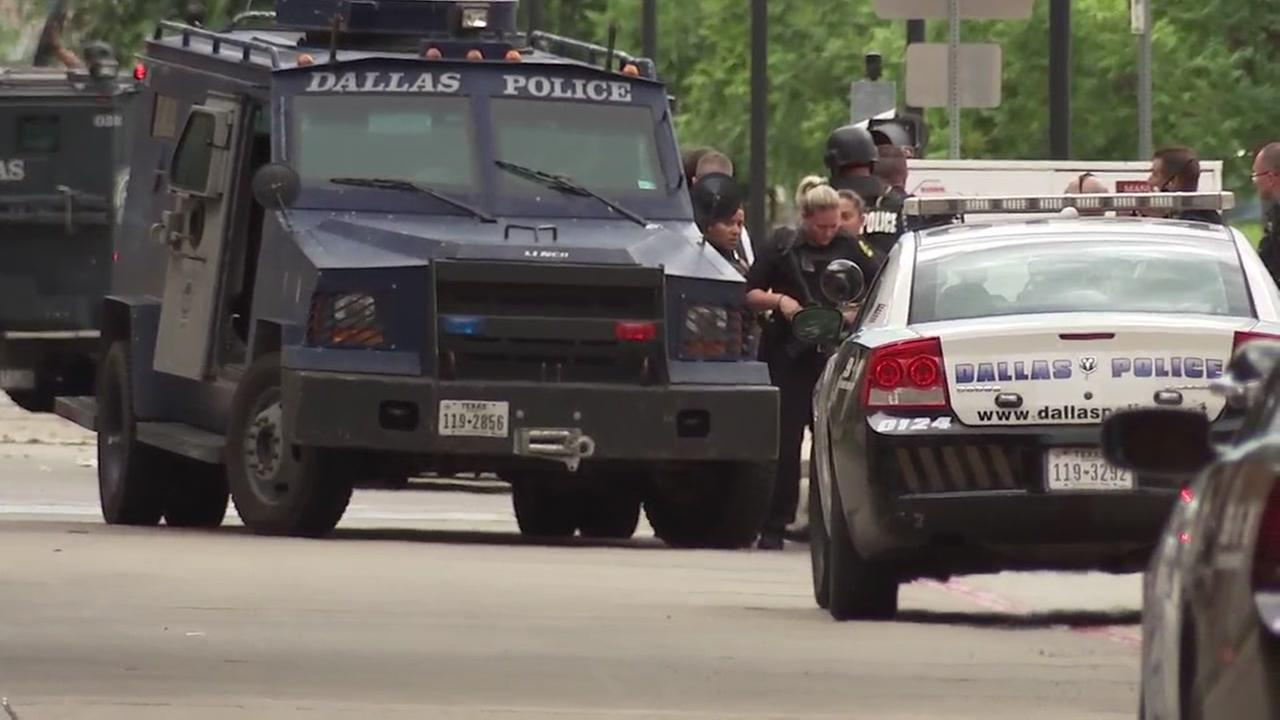 Dallas PD on alert after threat from Houston group
